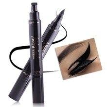 Eyeliner Pencil Makeup-Stamps Miss-Rose Liquid Beauty Black Waterproof Brand -265202