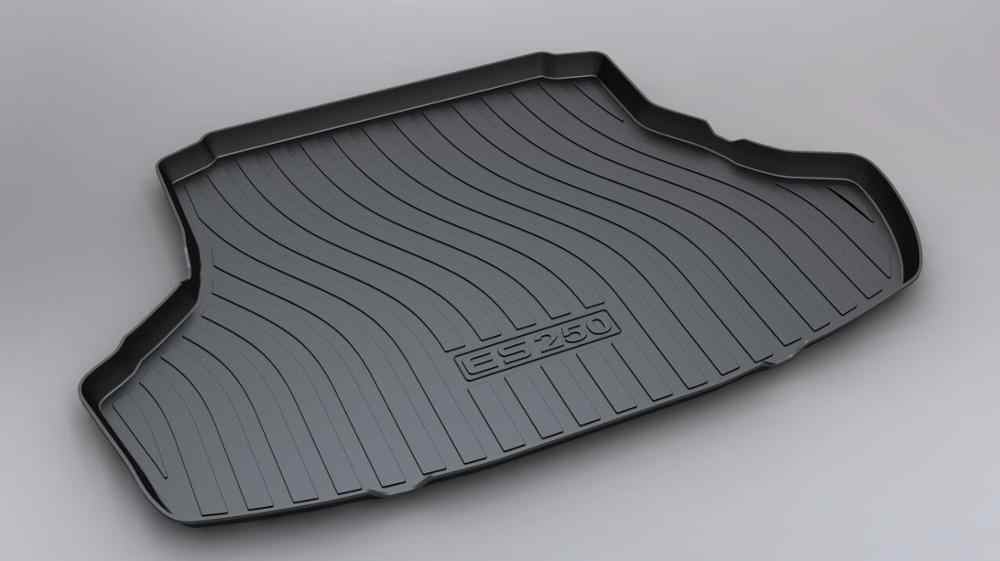 SJ ALL Weather TPO Car Trunk Mats Tail Boot Cargo Liner Cover Rear Cargo Tray Luggage Pad For Lexus ES200 ES250 2013 14 15-2017