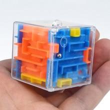 Горячая 3D головоломка Лабиринт игрушка ручной игровой Чехол Коробка забавная игра головоломка вызов игрушки баланс Развивающие игрушки для детей