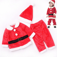 Christmas Party Newborn Baby Girl toddler flannel thanksgiving outfit Children Clothes kids tracksuit for girls sets clothing