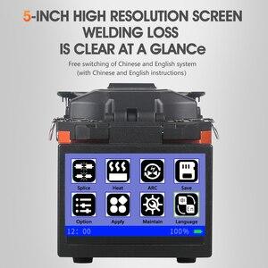 Image 4 - A 80S Oranje Automatische Fusion Splicer Machine Glasvezel Fusion Splicer Glasvezel Splicing Machine