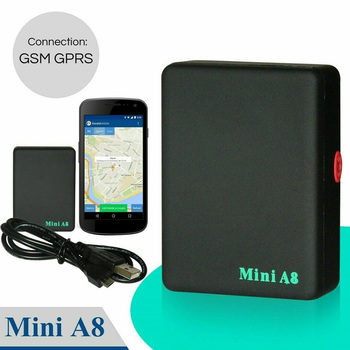 Realtime Global Locator Real Mini Time Car Kids A8 GSM/GPRS/GPS Tracker Tracking Locator Worldwide Car Navigator image