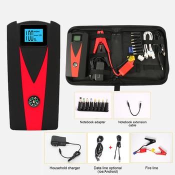 800A 24000mAH Car Jump Starter Starting Device Battery Power Bank Jumpstarter Auto Buster Emergency Booster Charger Jump Start