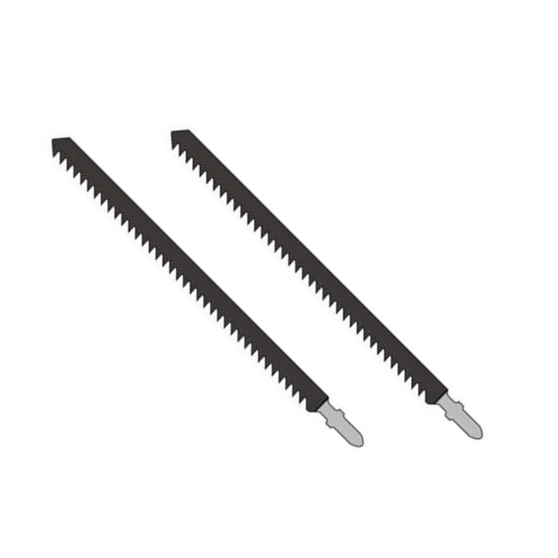 2pcs T744D HCS Length 180mm 6TPI Jigsaw Leaves For Cutting Wood Quickly Chainsaw Blade Kit