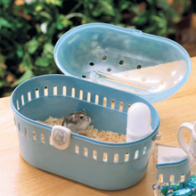 Cute Hamster Cage Pets Go Out Carrying Cage Plastic Guinea Pig House Pets Supplies helju pets meelespead isbn 9789949278367