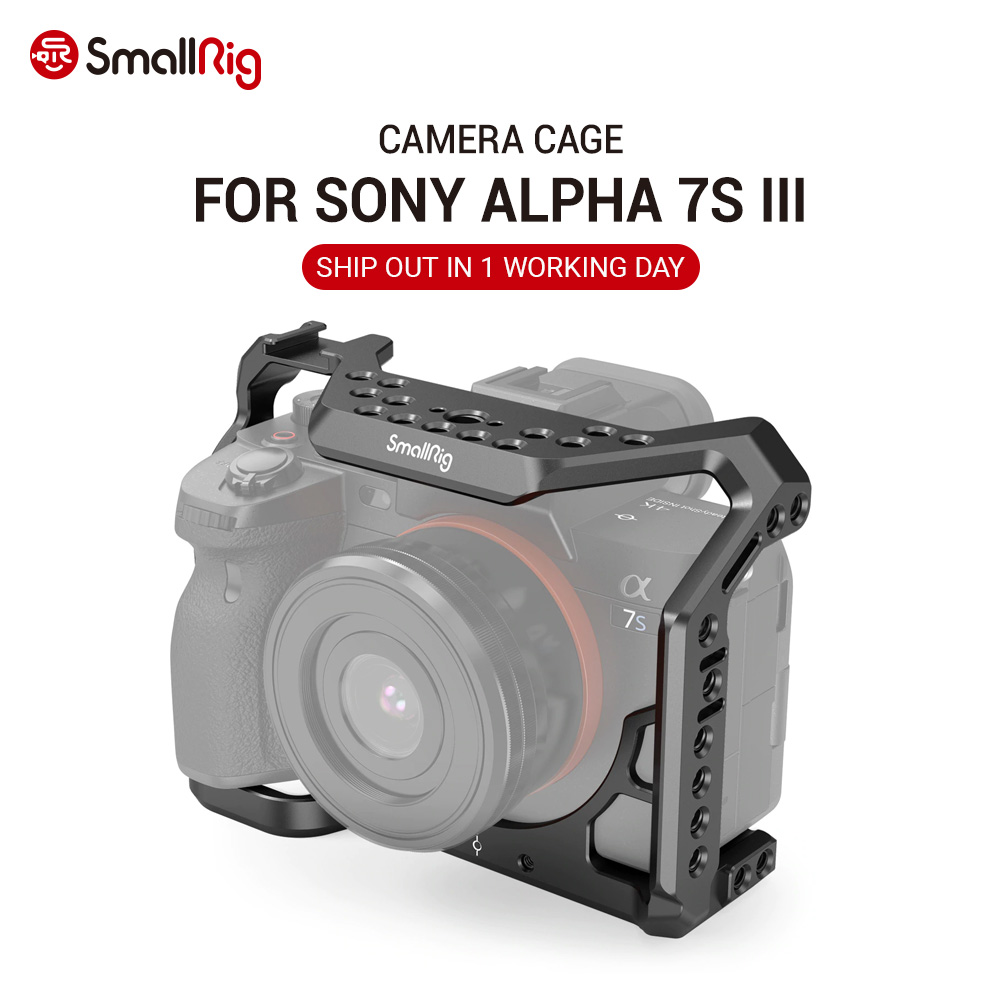 Dslr-Cage Rig Form-Fitting-Cage Smallrig 7s-Iii Sony Alpha A7S3 Camera A7siii-cage/Rig/2999