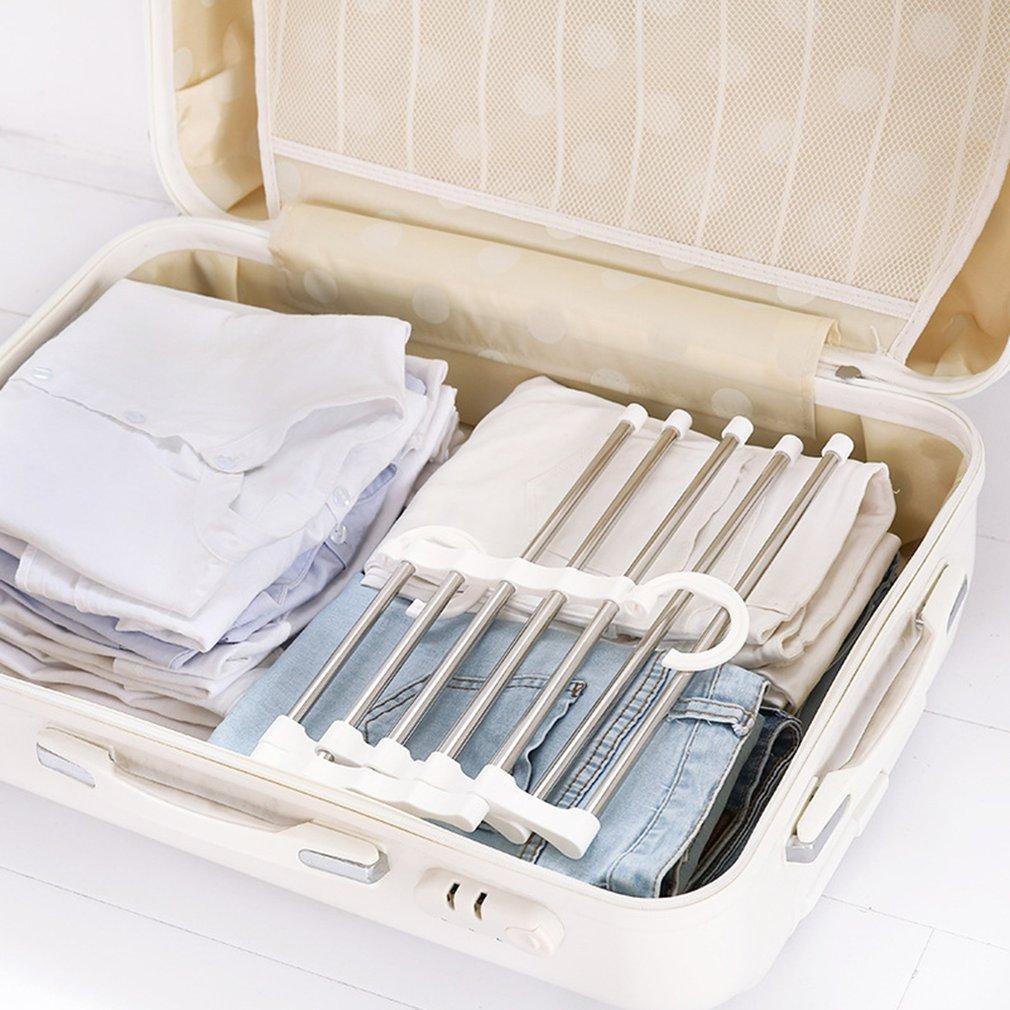 Многофункциональные штаны вешалка для шкафа пять в одном вешалка для брюк сушилка для одежды портативные подставки для одежды