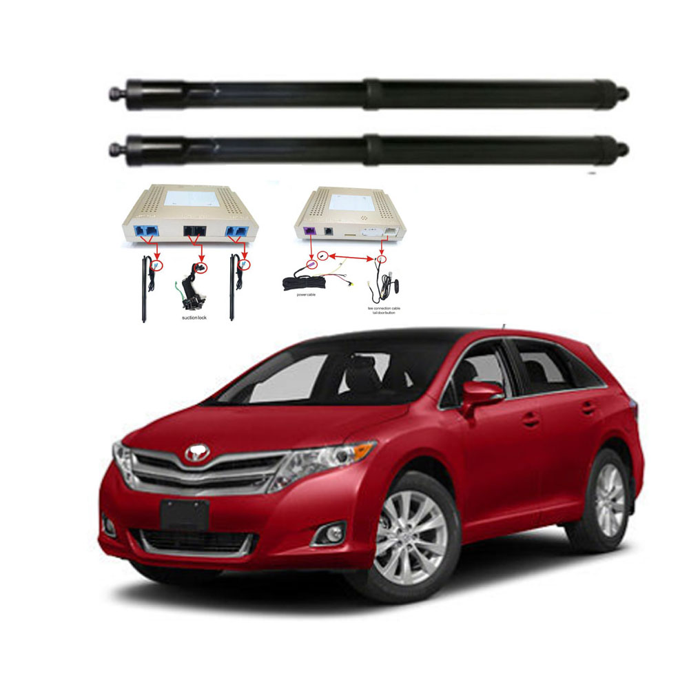 New Electric Tailgate Refitted For Toyota VENZA 2015-2020 Tail Box Intelligent Electric Tail Door Power Tailgate Lift Lock
