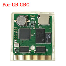 EDGB פרו EZ FLASH Junior משחק מחסנית כרטיס עבור Gameboy DMG GB GBC GBP משחק קונסולת Custom משחק מחסנית כוח חיסכון גרסה