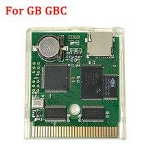 EDGB PRO EZ FLASH Junior Cartouche de Jeu Carte pour Gameboy DMG GO GBC GBP Console de Jeu Personnalisé Jeu Cartouche Déconomie Dénergie Version