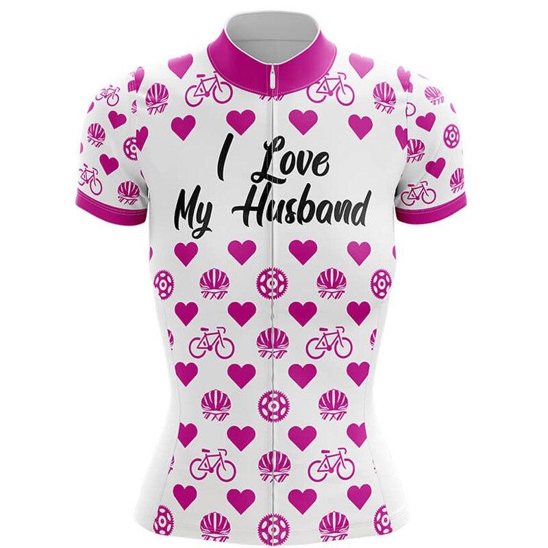 "Women/'s /""Love My Bike/"" Cycling Jersey"