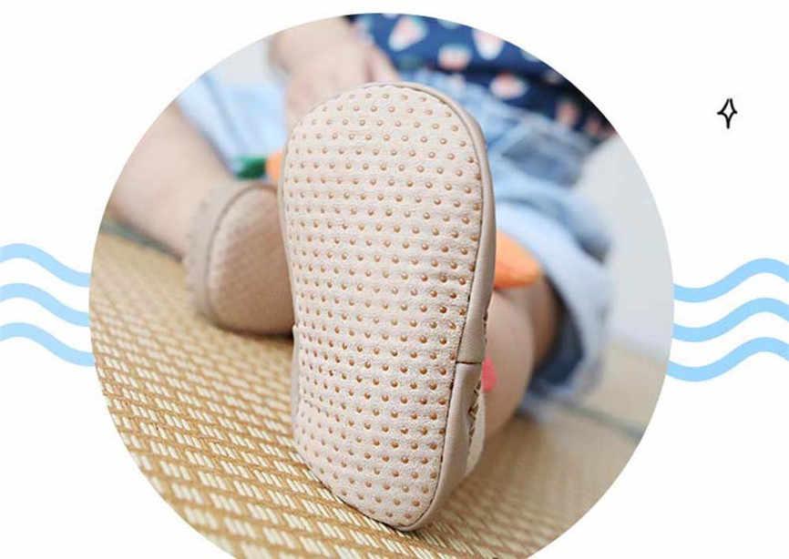 Mùa Đông Vải Cotton Sơ Sinh Hoạt Hình Hình Bé Gái Bé Trai Chống Trơn Trượt Trơn Chống Trơn Trượt Thoải Mái 2019 giày Cho Bé 70