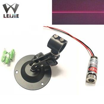 Adjustable Focusable 650nm 5mW Line 12*35mm Red 3V-5V Laser Module w/360 Degree 12mm Holder Support Bracket 12mm LED LD Module 5mw adjustable focus red laser line module 4 5 5v