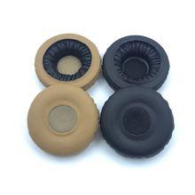 1 Pair Replace Leather Headphone Ear pads for AKG Y40 Y45BT Y45 BT Earbud Earphone Foam Pad Cushion Sponge Covers