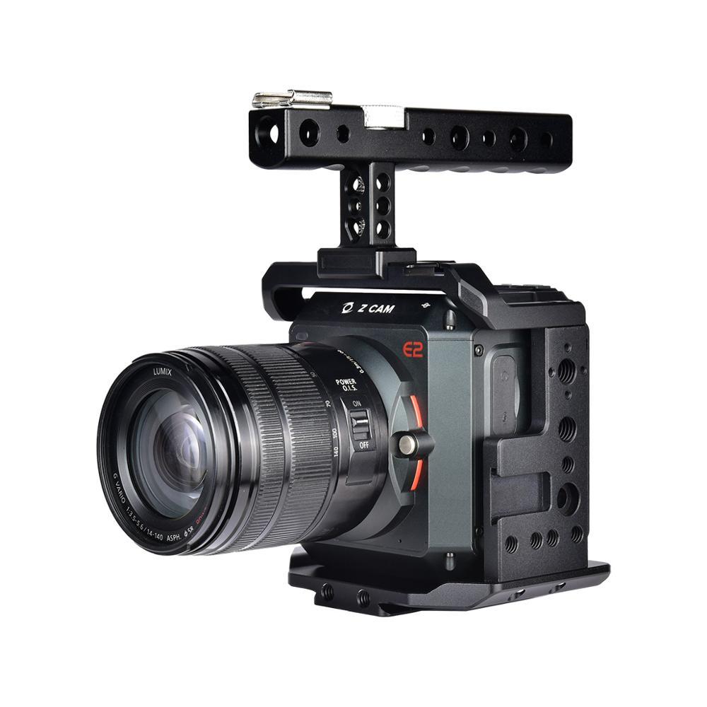Yelangu Professional Video Camera Cage Mount Stabilizer Rig With Top Handle For Z CAM E2 E2C E2G E2-S6 E2-F6 F8 4K Cinema Camera
