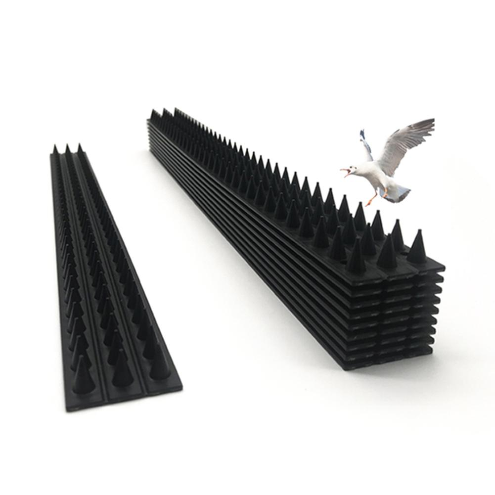 Plastic Bird Spike Wall Fence Spikes Yard Bird Spikes Anti Bird Pigeon Spike For Get Rid Of Pigeons And Scare Birds Pest Control
