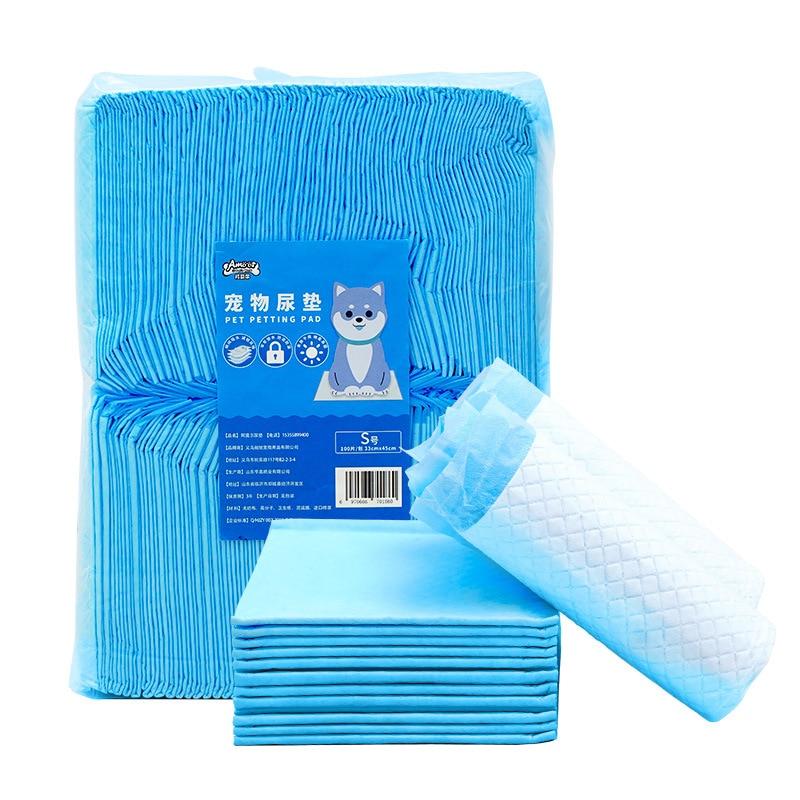 20/40/50/100Pcs Pet Disposable Cat Dog Urine Pad Urine Training Diaper Nappy Paper Replace Toilet Paper Pet Pee Accessories