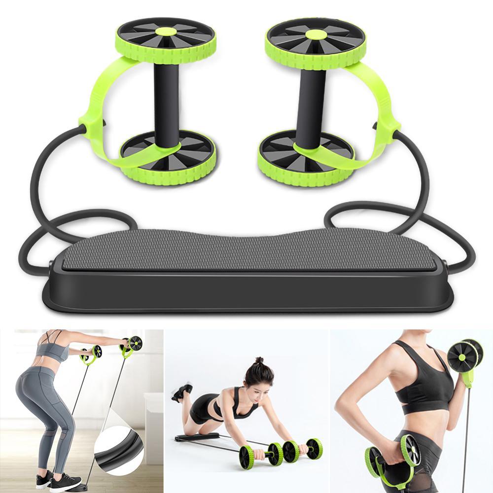 Купить ролик для пресса оборудование фитнеса abs роликовое колесо тренировки