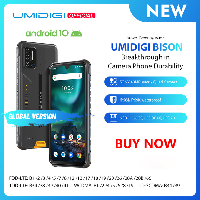 UMIDIGI BISON Smartphone 1