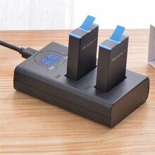 Batterie de remplacement pour chargeur de batterie 2 en 1 pour accessoires de caméra daction panoramique GoPro MAX