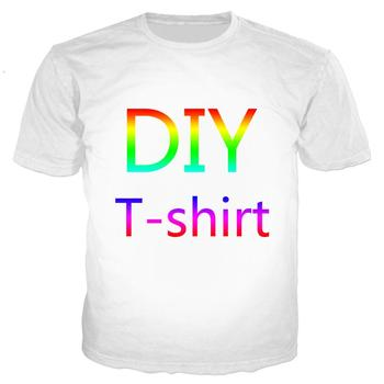 Tessffel custom made DIY customize Unisex Casual Tracksuit Harajuku 3D full Print T-shirt Shirts short Sleeve Mens Womens 1