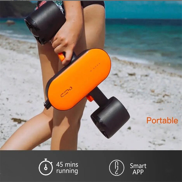 350W Electric Underwater Scooter Bluetooth RC Water Sea Scooter Motor Seascooter Diving Equipment for Kids Adults Swimming Pool 1