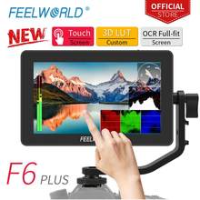 FEELWORLD F6 PLUS 5.5 นิ้วกล้อง DSLR Field Monitor 3D LUT Touch หน้าจอ IPS FHD 1920x1080 focus Assist สนับสนุน 4K HDMI(China)