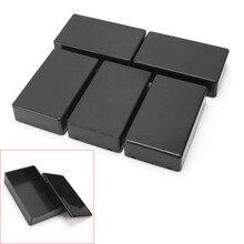 5 Pcs Brand  DIY 100x60x25mm Plastic Electronic Project Box Enclosure Instrument Case Top Sale стоимость