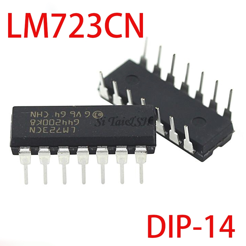 10PCS UC723L = LM723CN DIP14 LM723 DIP-14 MC1723CP DIP New And Original IC