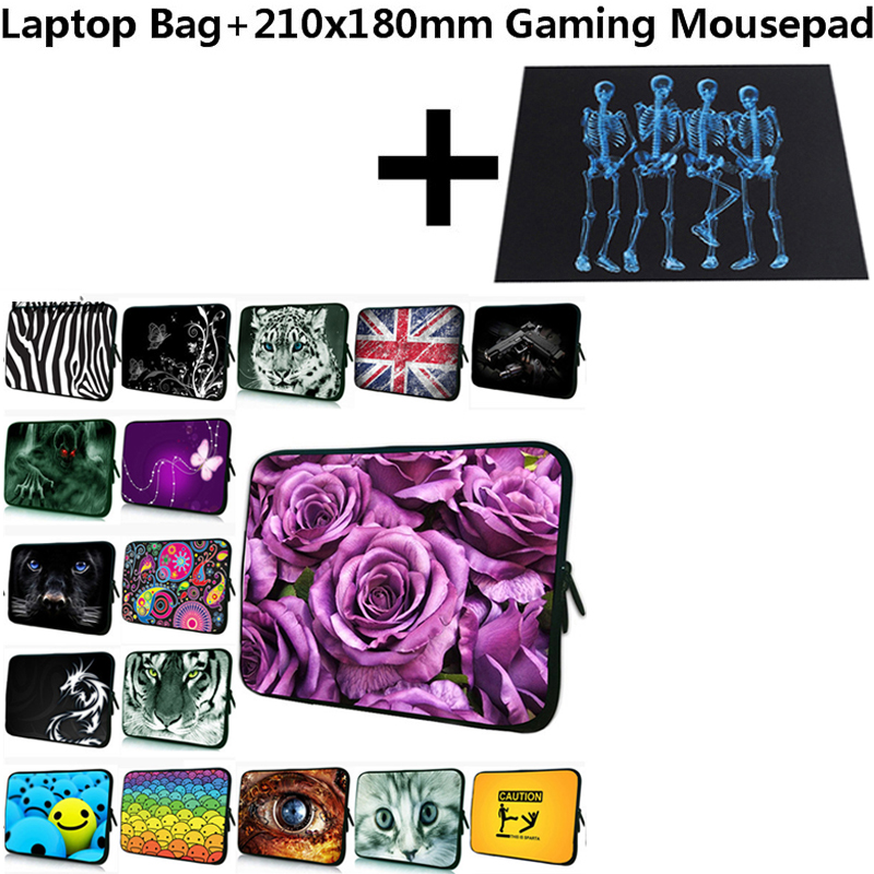 21x18cm Gaming Mousepad+Sleeve 10 Tablet PC Case Cover 10.1/10.2/ 9.7 Prints Bag For Samsung Galaxy AS 9.7 T550/iPad 2 3 4 Case image