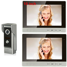 10inch Wired connection HD Video Door Phone Intercom System