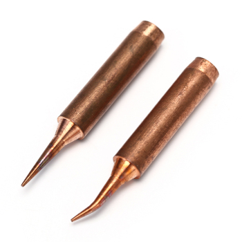 1/2pcs 900M T Series Pure Copper Soldering Iron Tip Lead-free Welding Sting For 936 FX-888D 852D Soldering Iron Station image