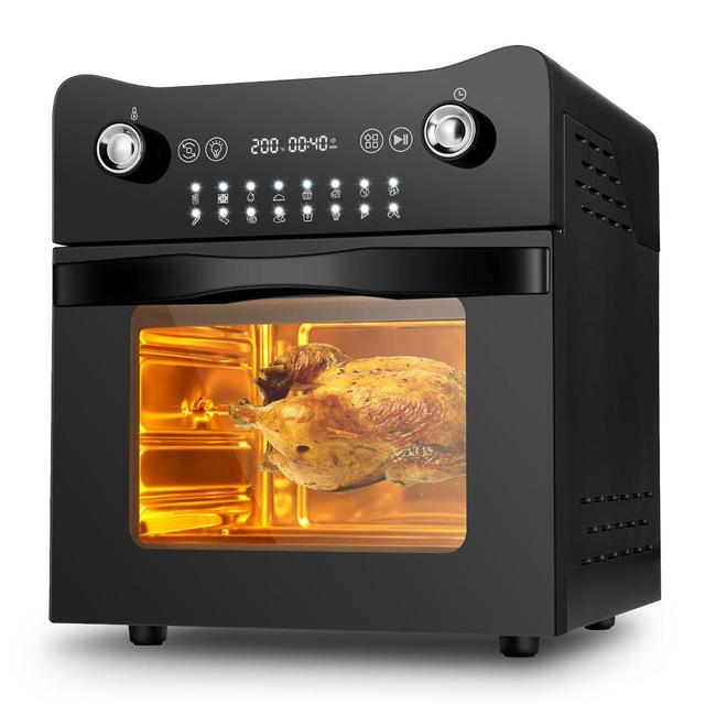 14.7QT Electric Toaster Oven 1800W Electric LED Touch Screen 16-in-1 Smart  Air Fryer 3