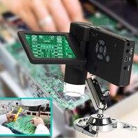 Dreamburgh Digital Microscope with HD LCD Display USB Electronics Video Microscope Soldering Microscope phone Repair Magnifier