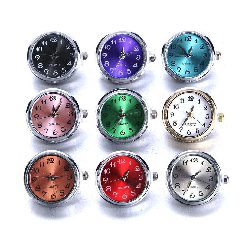 מצליפה חדשה תכשיטי DIY 18mm זכוכית שעון הצמד כפתורים להחלפה תכשיטי אבזר יכול לנוע להחלפה הצמד צמיד תכשיטים