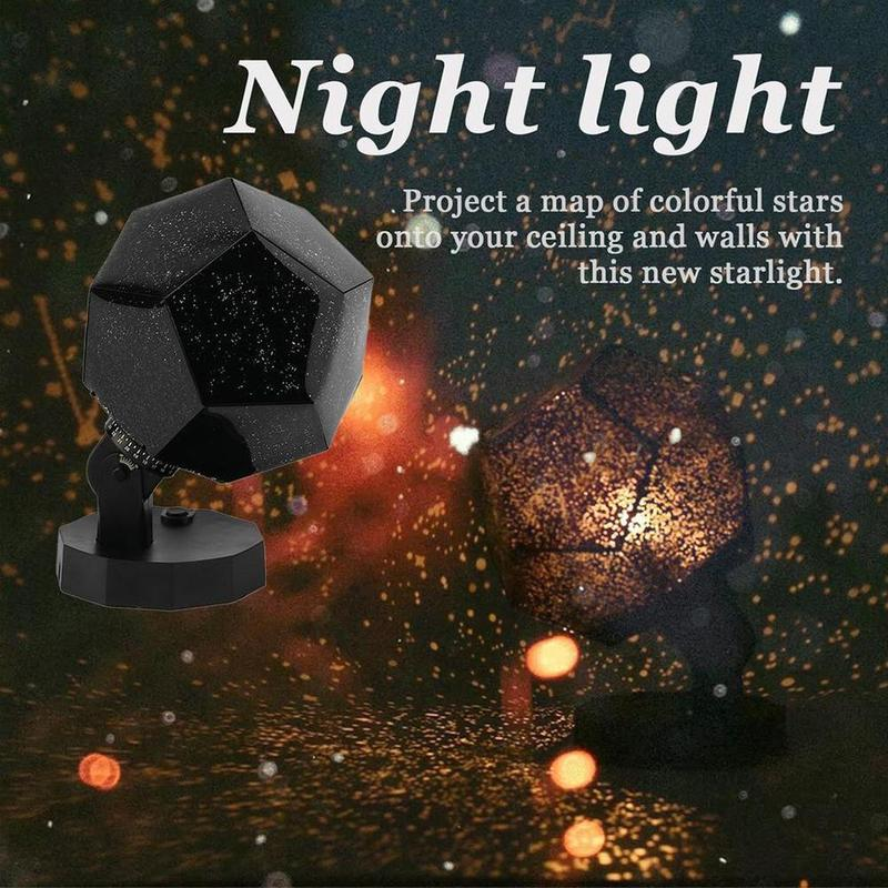 1PCS Starry Sky Light Original Planetarium Projector Romantic Cosmos Night Light Sky Lamp Christmas Accessories New Year