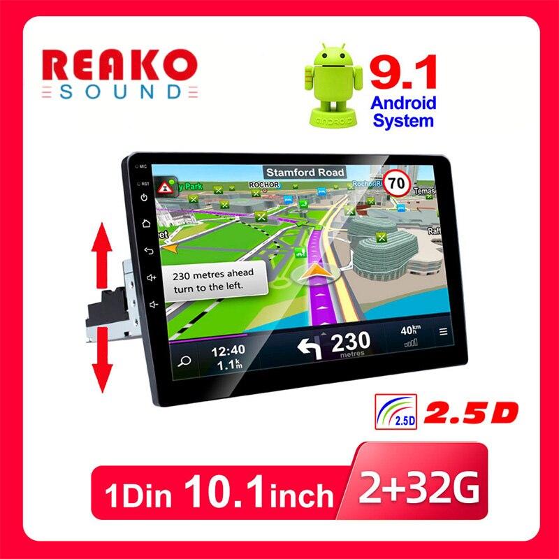 1 Din Автомобильный мультимедийный плеер авторадио стерео видео 10,1 дюймов сенсорный экран GPS WiFi авто радио резервная камера MP5 плеер
