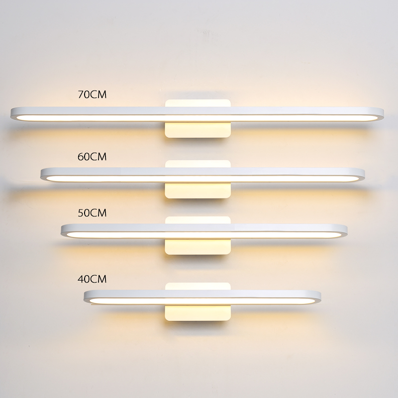 40/50/60/70cm length High Brightness Modern Led Bathroom Mirror Lights Home Mirror lamp Fixtures110V 220V Mirror lamp Free Mail