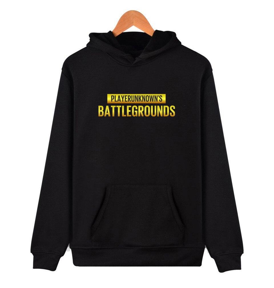Playerunknown's Battlegrounds PUBG Hoodies Sweatshirt Long Sleeve Jacket Coat Fashion Harajuku Hoodie Men Women Sweatshirts