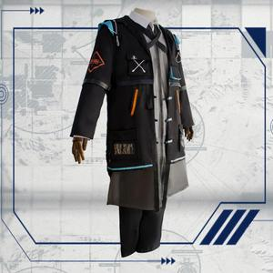 Image 4 - 2019 New Game Arknights Doctor Ph. D. Cosplay Costume Halloween Outfit Set RHODES ISLAND