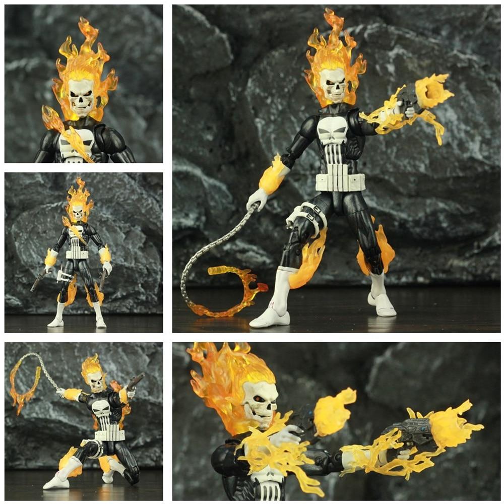 Custom Marvel Punisher Ghost Rider Frank Castle 6