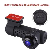 Blueskysea 360° Rotatable Panoramic L9 Car Dash Cam DVR HD 2160P Sony IMX326 WIFI Camera Night Vision 24H Parking Monitor