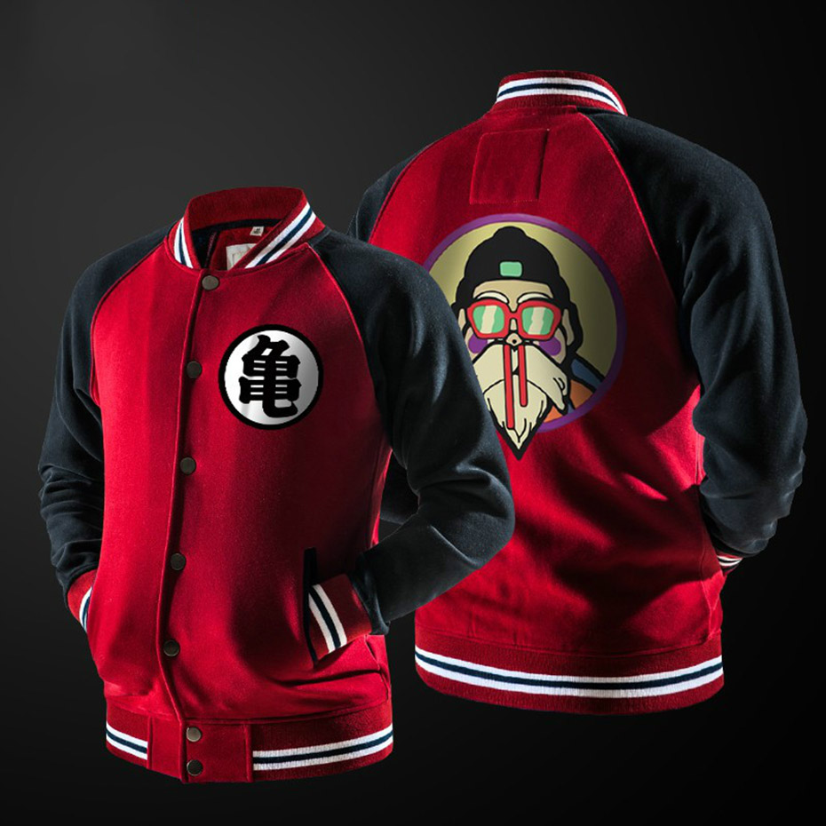 Hoodies Mens 2018 Autumn Hoody Men Dragon Ball Coat Casual Male Jacket Moleton Masculino Fashion Boy Hoodies Sweatshirt S-3XL