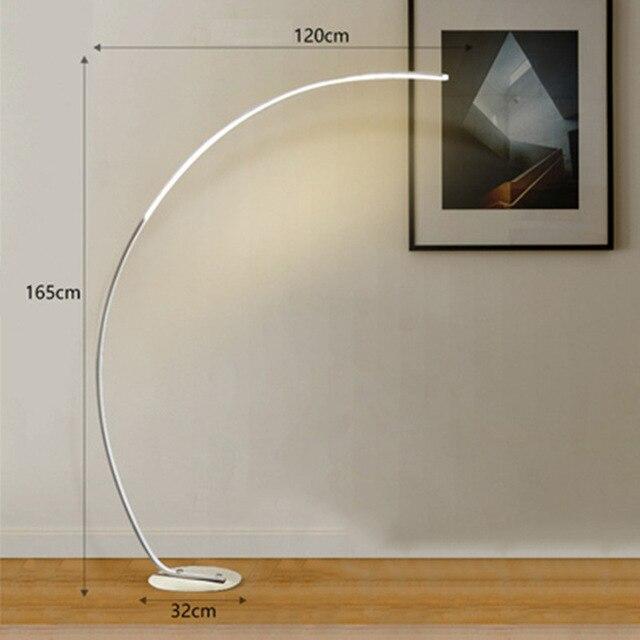 Floor lamp D white