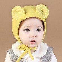 Caps Hats Beanie Baby Kids Children Warm Toddler Spring Cotton Bucket-Panama Chapeau