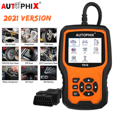 Autophix 7910 OBD2 Diagnostic Tool For BMW TPMS Oil Airbag Battery Reset Car Scanner All System Diagnostic Tools For Rolls Royce