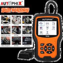 Autophix أداة تشخيص السيارة ، ماسح ضوئي للسيارة ، إعادة ضبط البطارية ، TPMS ، OBD2 ، لسيارات BMW و Royce ، 7910