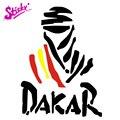 Липкий значок с логотипом Испании в Дакаре, брендовая Автомобильная наклейка, наклейка, Декор, виниловый шлем, автомобиль, мотоцикл, скейтбо...