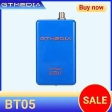 GTMedia مكتشف الأقمار الصناعية V8 BT05 ، DVBS2 ، متوافق مع android و ios ، 1080p ، bluetooth ، sat Finder ، بطارية ليثيوم داخلية