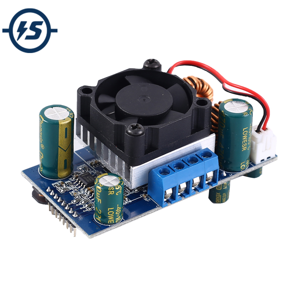 Step UP Down Power Supply Module Coulomb Counter Adjustable Voltatge Converter Boost Buck Temperature Display Solar Power Charge